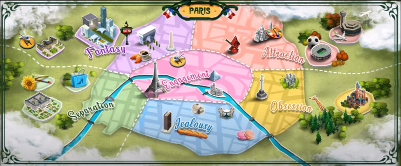 Paris, Cidade do Romance