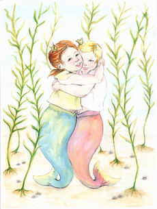 Mermaid Hug