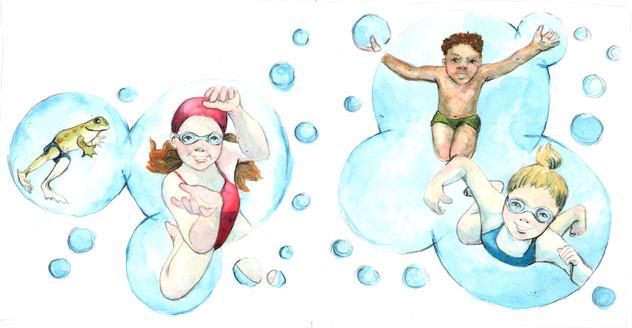 Bubbles of fun
