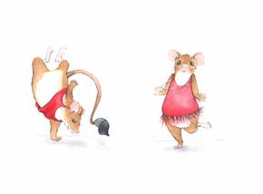 Dancing mouse studies