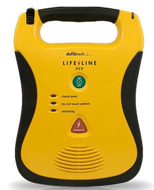 Defibtech Lifeline AED  hjertestarter forefra
