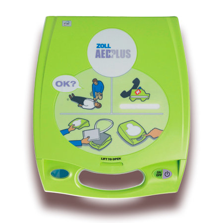 Zoll AED PLUS Hjertestarter forfra