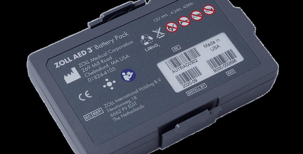 Batteri - ZOLL AED 3