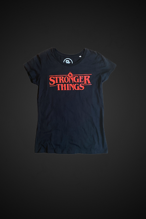 T-Shirt Stronger Things (WM)