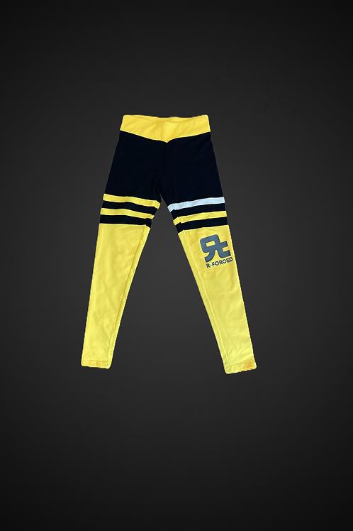 R-F Fitness & Yoga Leggins (Yellow)