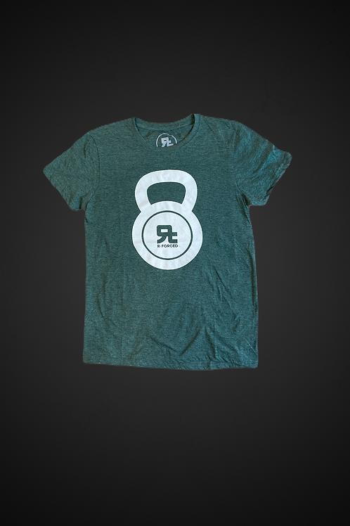 T-Shirt Kettlebell Logo (Verde/Bianco)