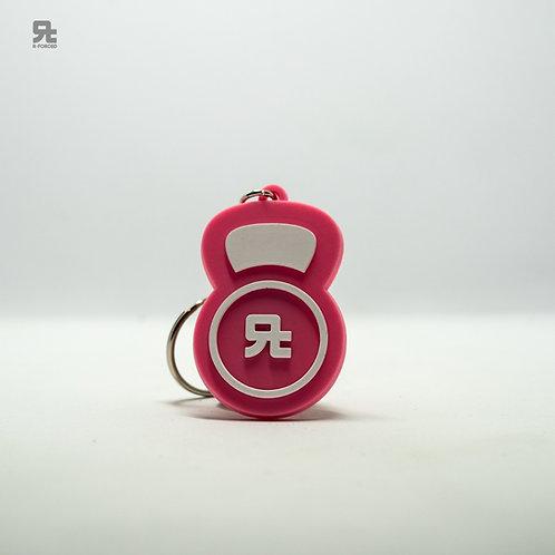 Portachiavi R-FORCED Kettlebell (Pink)