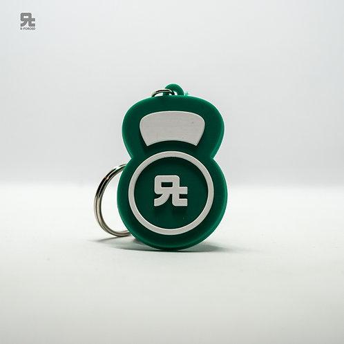 Portachiavi R-FORCED Kettlebell (Green)