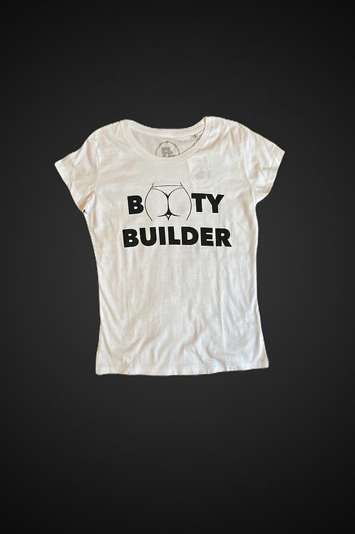 T-Shirt Booty Builder White