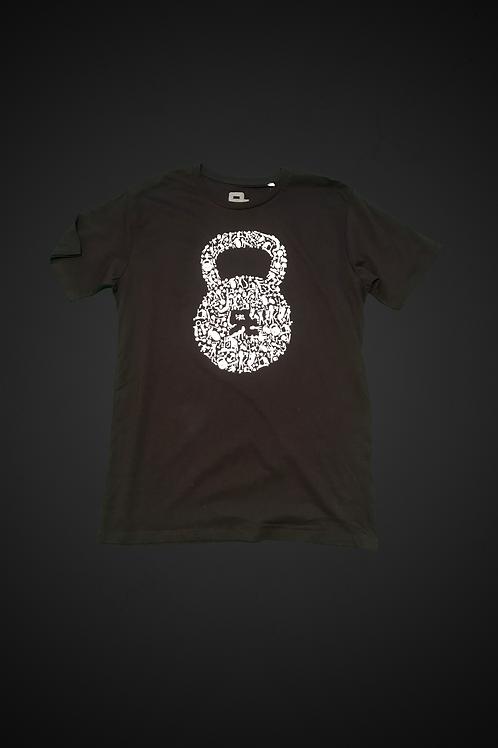 T-Shirt Human Kettlebell (Black)