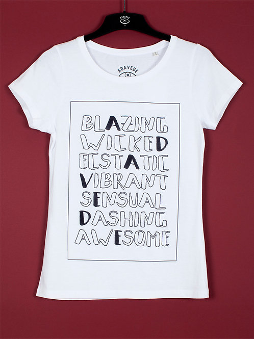 T-Shirt Adavede che Aggettivi (WM)