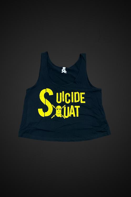 Canotta Suicide Squat (Organic Crop Vest))