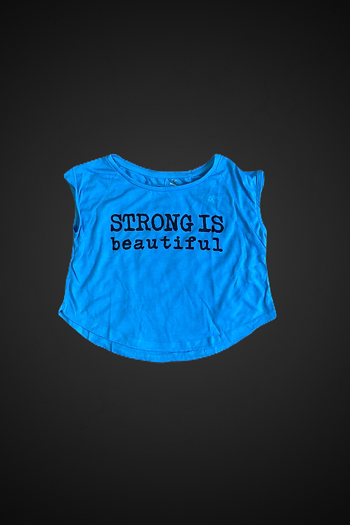 Strong is Beautiful (Blue)