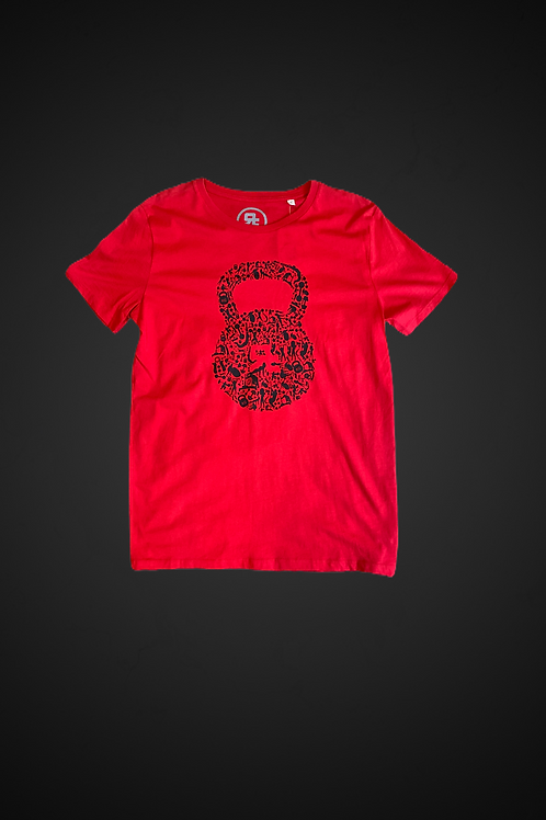 T-Shirt Human Kettlebell (Red)
