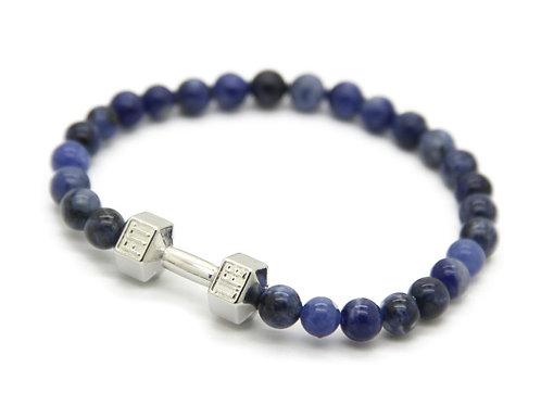 Bracciale Fitness Blue/Silver