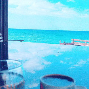 cofee at heaven beach house