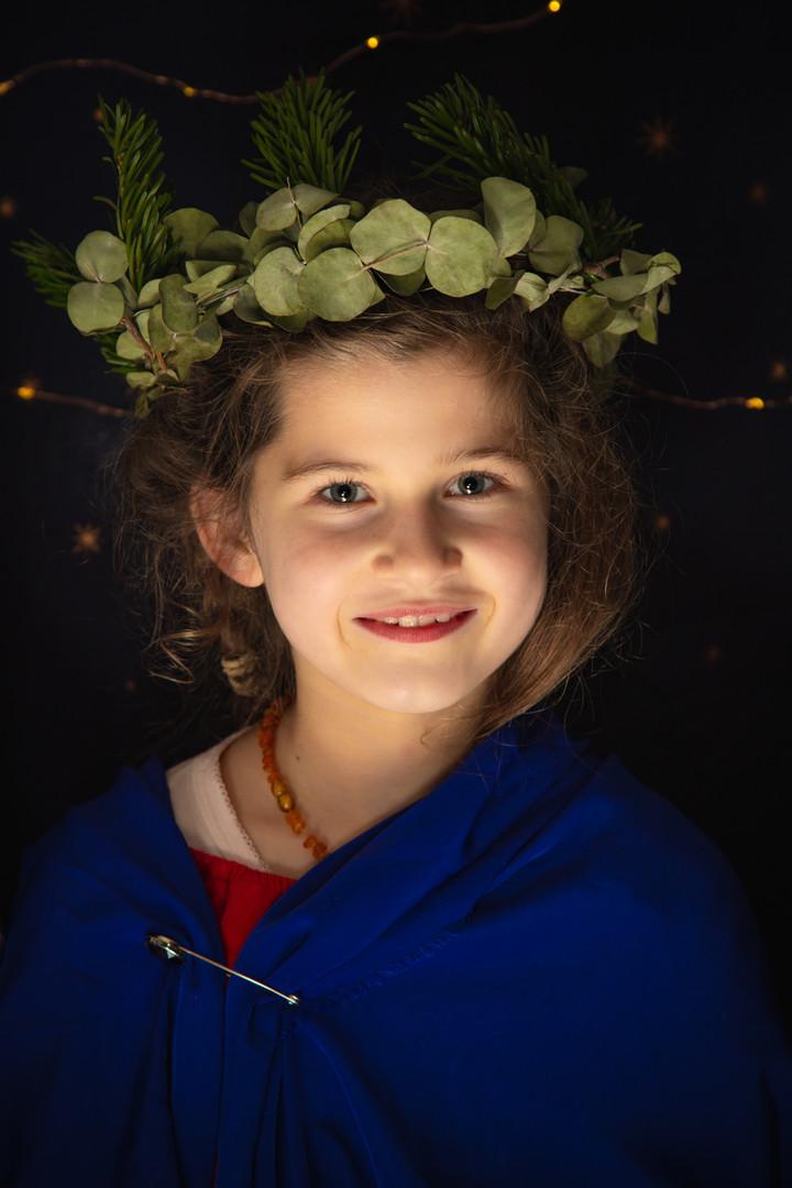 Portretfoto kerst
