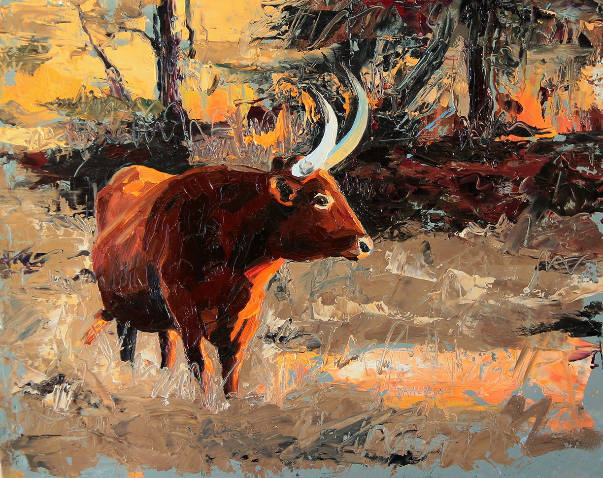 Sunset-on-the-Longhorn
