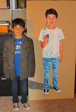 Diego-with-Portrait