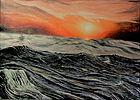 Onde (2020) olio su tela - cm 70 x 50.jp