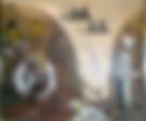All'osteria (1993) - tempera su cartoncino - cm 40 x 30
