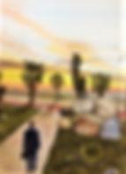 L'alba di un nuovo giorno (2020) - cm 50x70