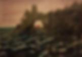 tramonto sul mare  (1999) - olio su tela - cm 70 x 50