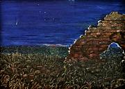 La cometa Hale-Bopp (1997) - olio su tela -cm 70x50