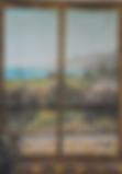 panorama via civitavecchia (1995) - olio su tela - cm 30 x 40