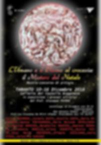 """mostra concorso """"L'umano e il Divino al crocevia: il mistero del Natale"""