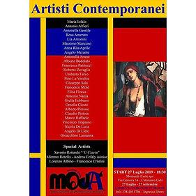 mostra collettiva Artisti Contemporanei