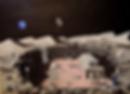 panorama dalla base lunare (2017) - olio su tela - cm 70 x 50