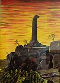 Capo colonna crotone (2006) - olio su tela - cm 50 x 70