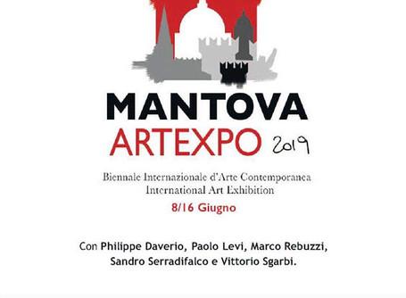2a Biennale Internazionale Mantova Artexpo 2019