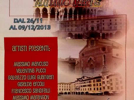 """partecipazione alla mostra """"Autunno in Arte"""" a Udine"""