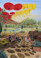 Visita al giardino botanico (2018) olio su tela - cm 50 x 70.jpg