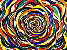 Il buco nero bis (2021) olio su tela - cm 50 x 40