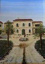 paesaggio campagnolo (2001) - olio su tela - cm 50 x 70