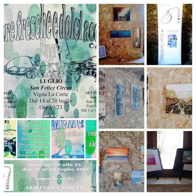 partecipazione alla mostra collettiva itinerante