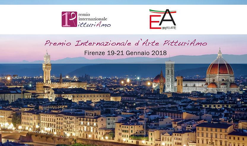 Premio internazionale Pitturiamo, Firenze 2018