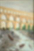 acquedotto romano (1993) - olio su tela - cm 50 x 70