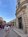 ingresso chiesa del Purgatorio a Matera