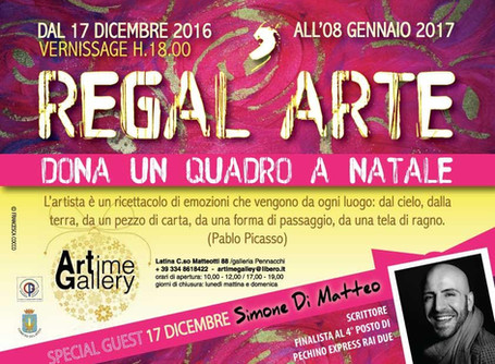 "mostra collettiva ""REGALARTE"""