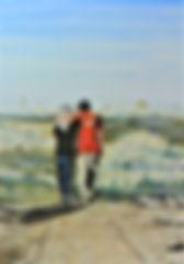 La fratellanza (2019) - olio s u tela - cm50x70