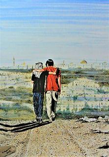 La fratellanza (2019) - olio su tela - cm 50x70