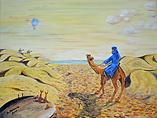 Il miraggio (2017) - olio su tela - cm 40 x 30