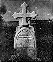 Tombstone of Rev Henry Budd sr
