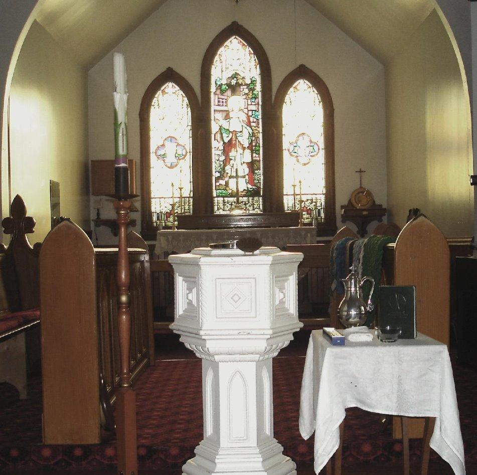 Our Baptismal Font