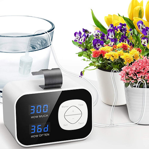 Automatic Irrigation System, Plant Self Watering System with Max 60-Day Water Ti