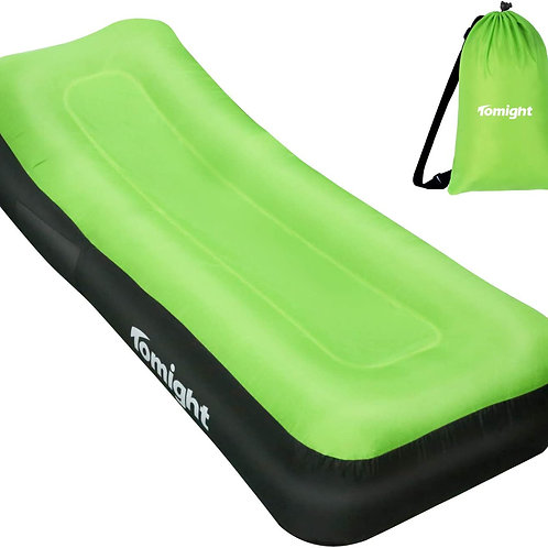 Inflatable Lounger, Portable Inflatable Sofa Air Lounger, Air Sofa Bed Hammock w